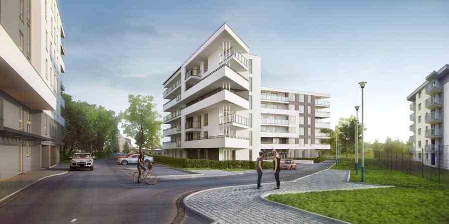 lokale użytkowe na sprzedaż, mieszkania na sprzedaż , ul. Wielicka - Rydygiera Etap 2, Kraków, Bieżanów-Prokocim, ul. L. Rydygiera - KRN.pl