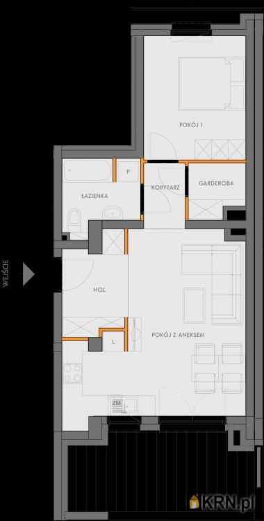 Mieszkanie, 49.90m2, Kraków, mieszkanie na sprzedaż