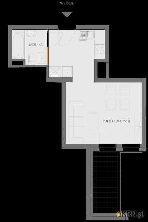 Mieszkanie, 28.09m2, Kraków, mieszkanie na sprzedaż