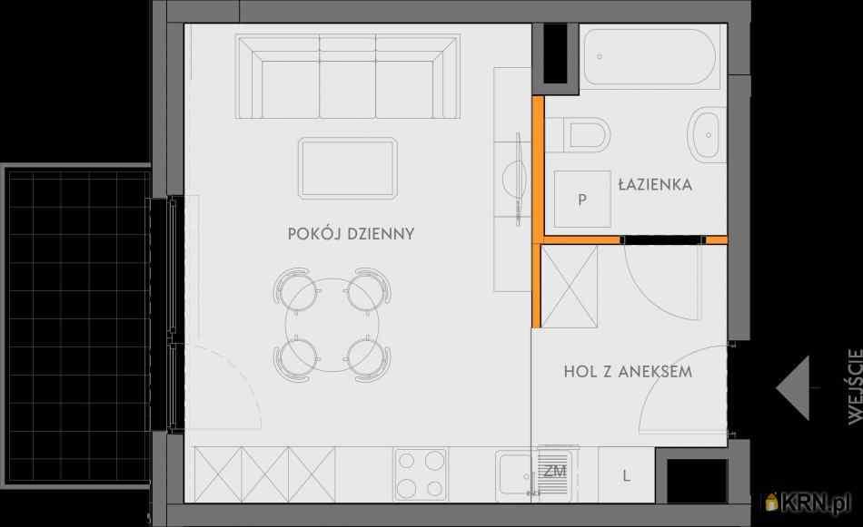 Mieszkanie, 27.98m2, Kraków, mieszkanie na sprzedaż