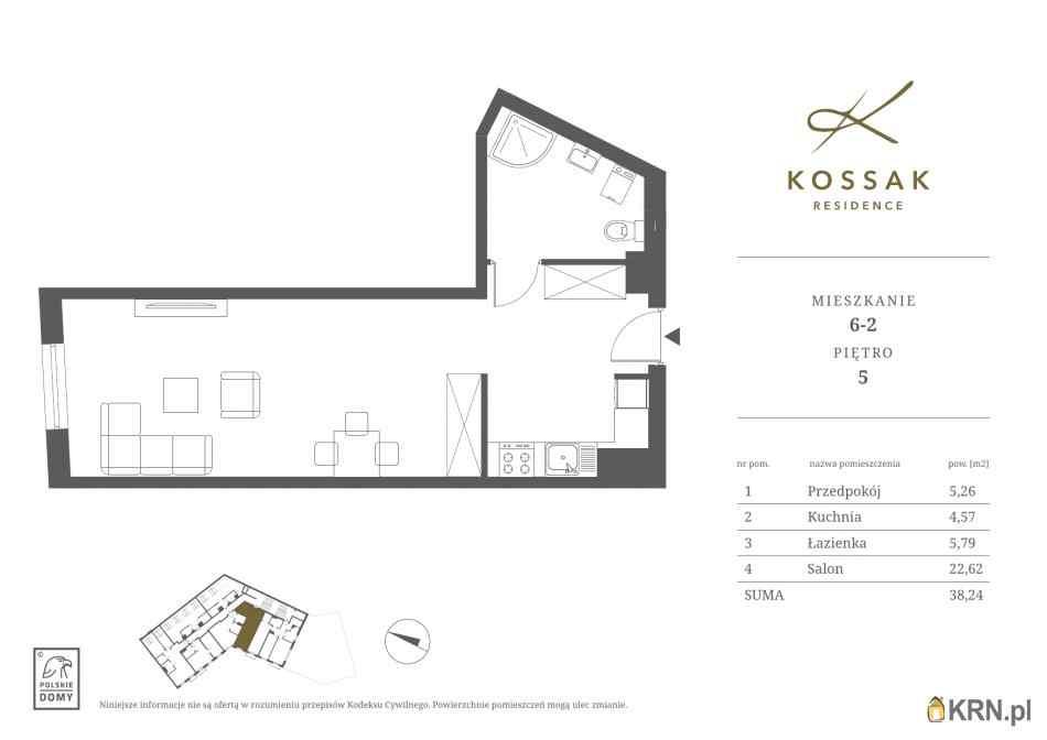 Mieszkanie, 38.23m2, Kraków, mieszkanie na sprzedaż