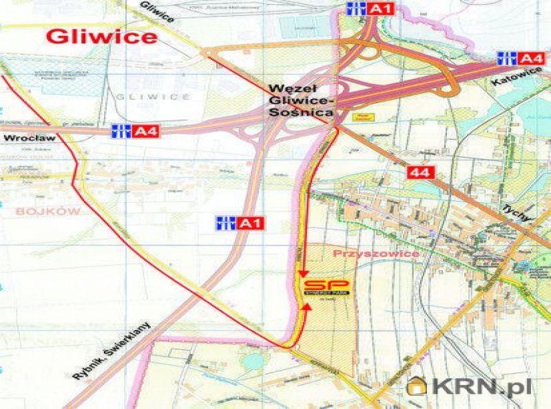 Działka Gliwice 9 290.00m2, działka na sprzedaż