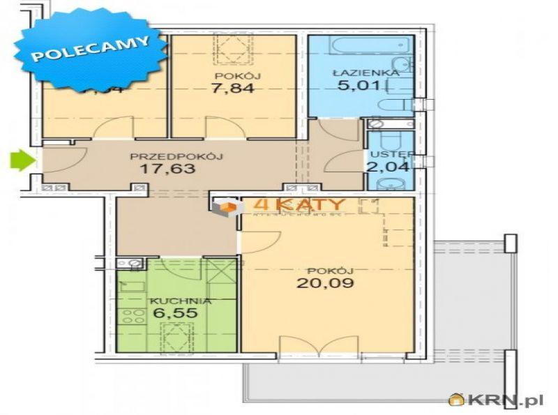 Mieszkanie gm. Zielona Góra 73.46m2, mieszkanie na sprzedaż