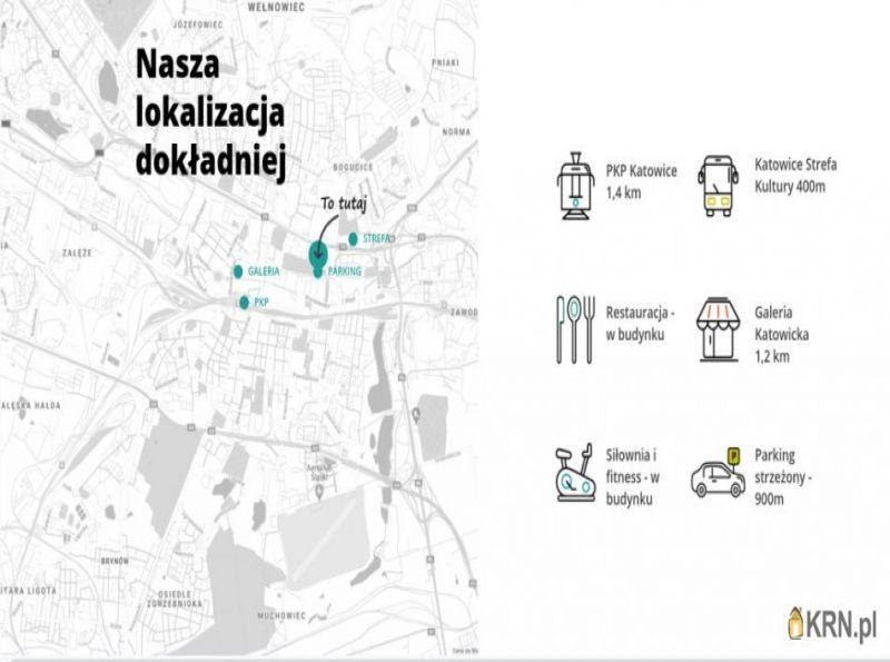 Lokal użytkowy Katowice 50.00m2, lokal użytkowy do wynajęcia