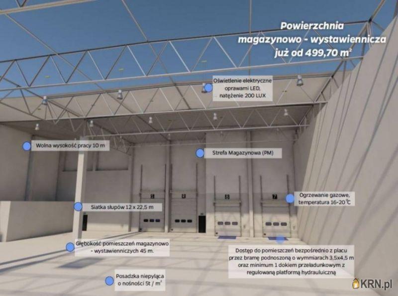 Lokal użytkowy Łódź 500.00m2, hale i magazyny do wynajęcia