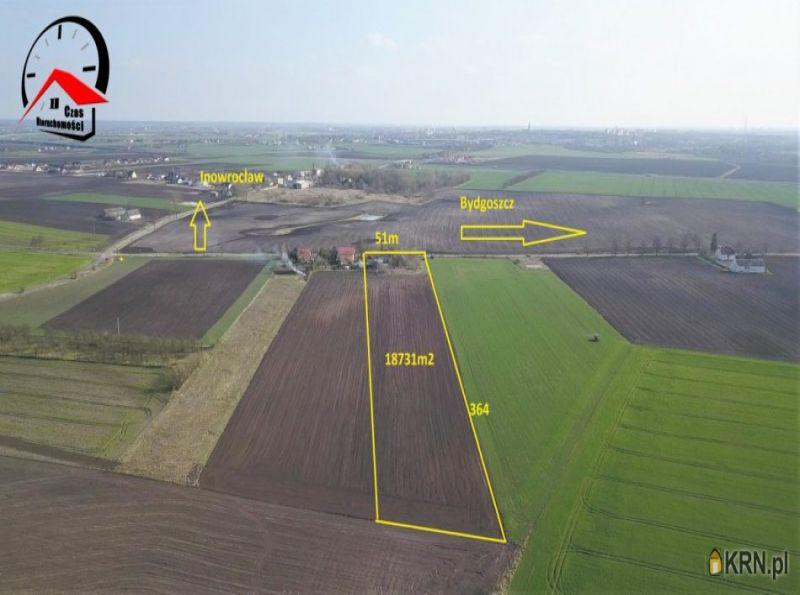 Działka Inowrocław 18 731.00m2, działka na sprzedaż