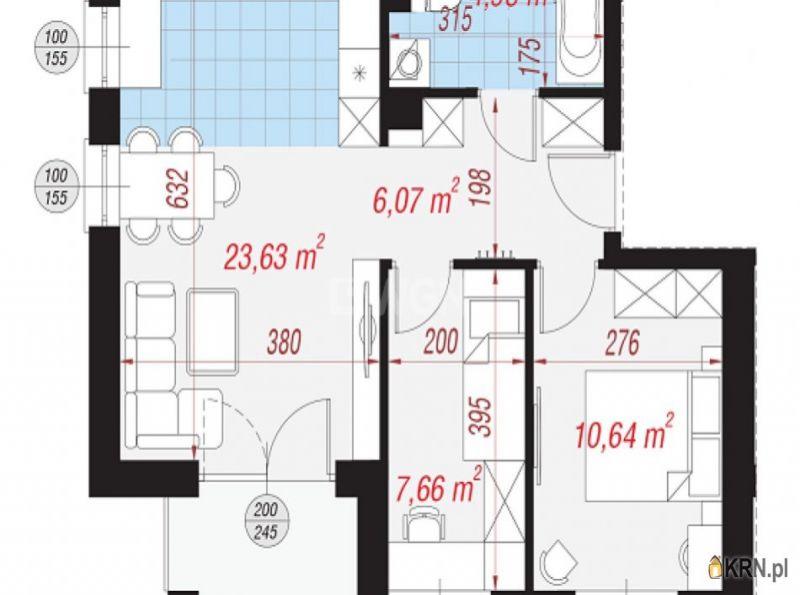 Mieszkanie Polkowice 52.98m2, mieszkanie na sprzedaż